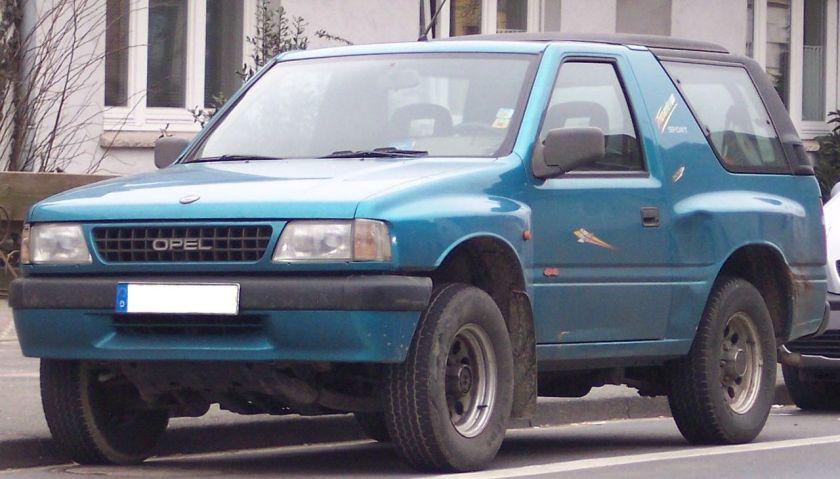 1991-04 Vauxhall Frontera