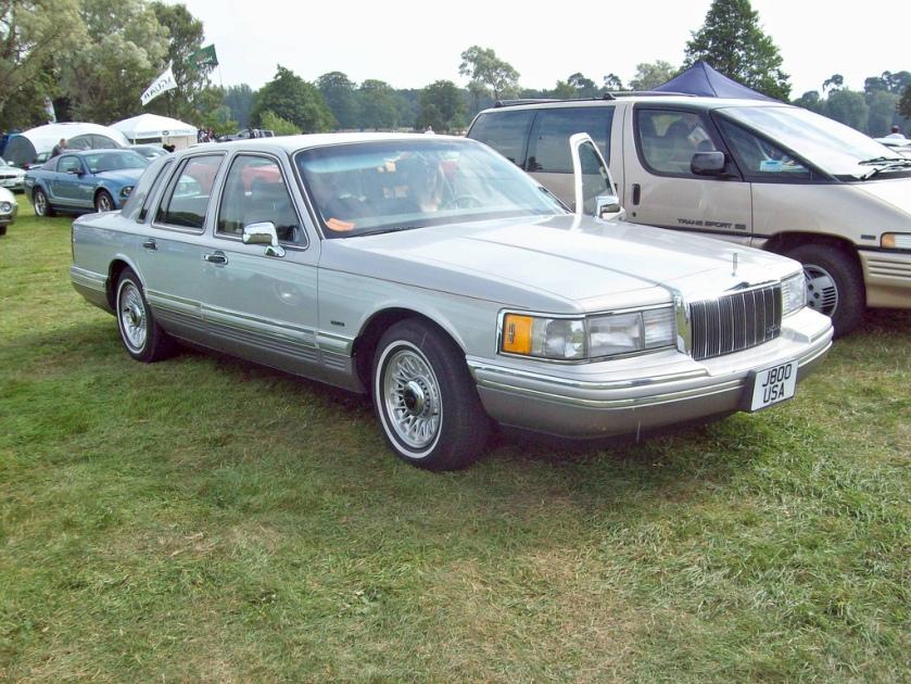1991 Lincoln Cartier edition Town Car Engine 4600cc Modular V8
