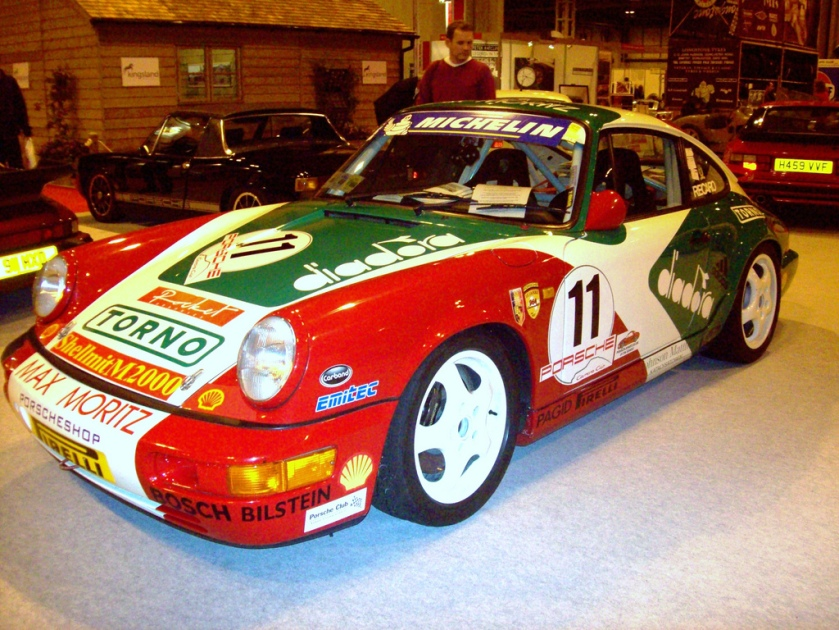 1991 Porsche 911 (964) Carrera 2 Cup  Engine 3600cc H4