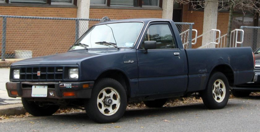 1992-02 Vauxhall Brava Isuzu P'up