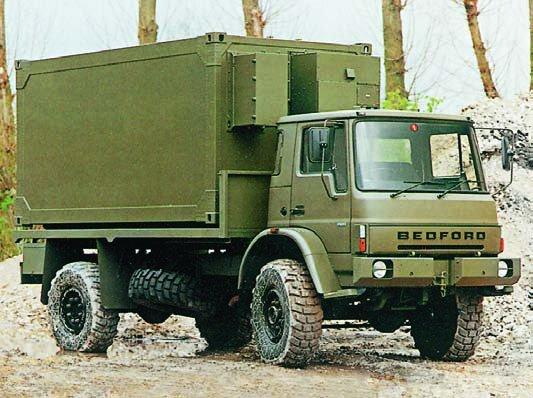 1992 Bedford МТ17-21, 4x4