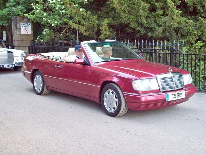 1993-94 Mercedes 320CE Cabriolet Engine 3199cc S6 BRY