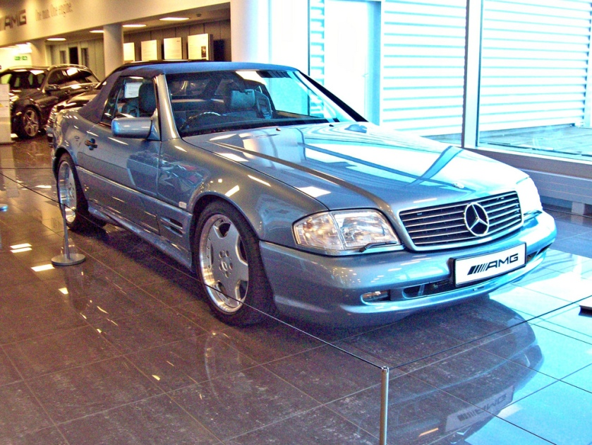1993-98 Mercedes SL60 AMG Engine 6000cc V8