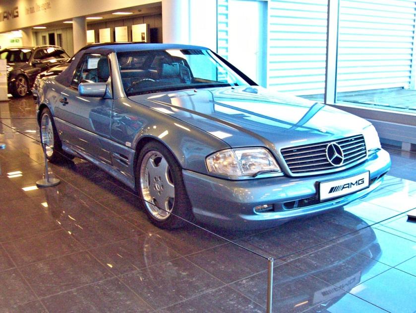 1993-98 Mercedes SL60 AMG Engine 6000cc V8