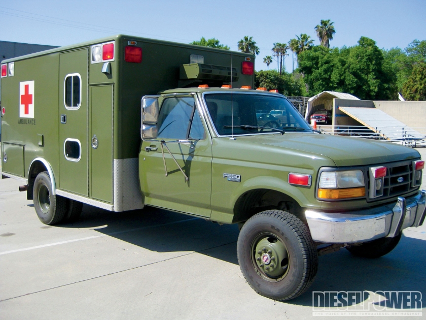 1993 Ford F350 Search Rescue Vehicle Military Ambulance