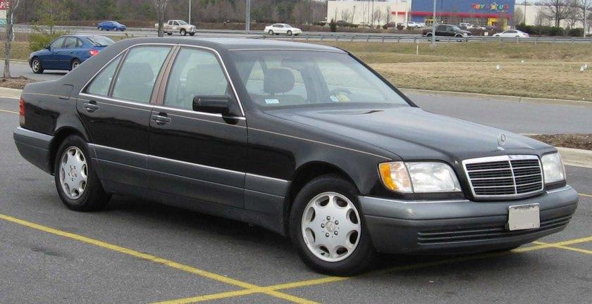 1995-1996 Mercedes-Benz S-Class SWB