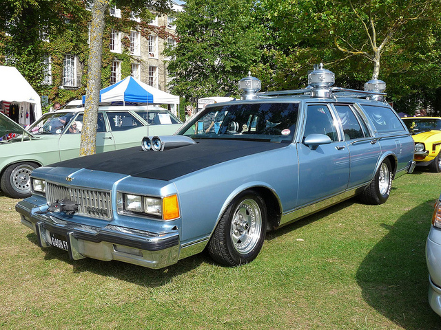 1995 Chevrolet Caprice Classic wagon Hearse