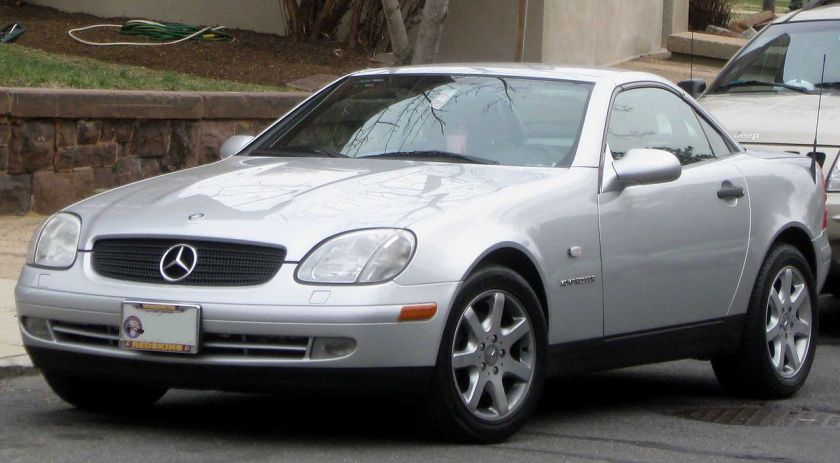 1997-2000 Mercedes-Benz SLK