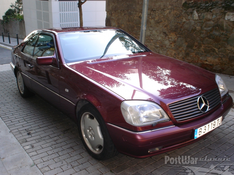 1997 Mercedes-Benz CL 420 COUPE