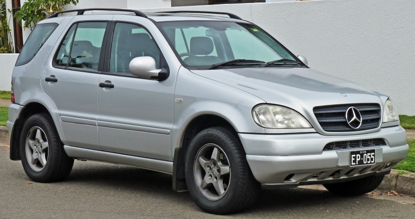 1998-01 Mercedes-Benz ML 320(W163)wagon