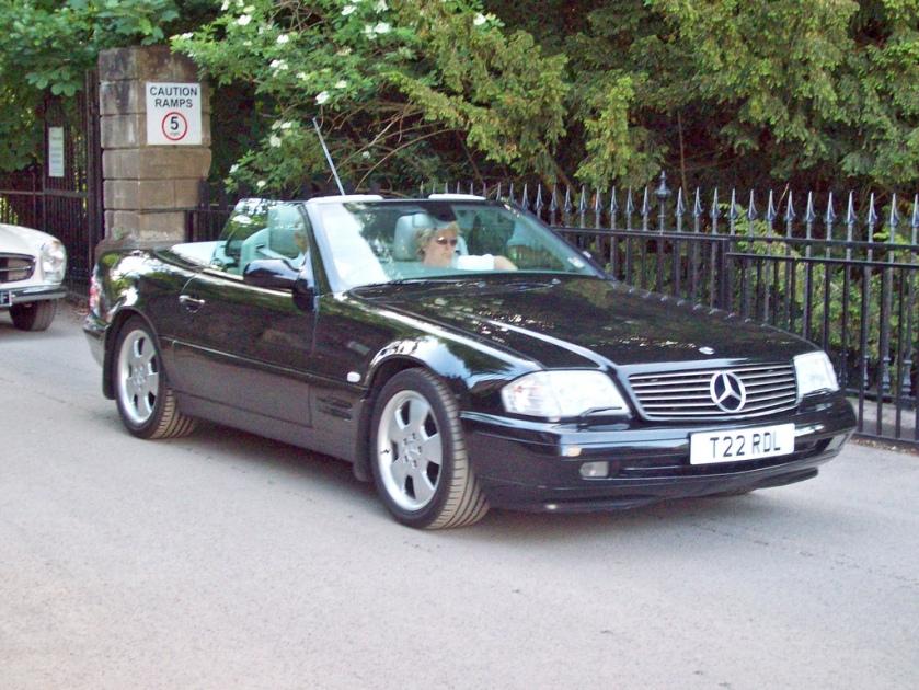 1998-02 Mercedes 320 SL Automatic Engine 3199cc V6 SOHC 18 valve