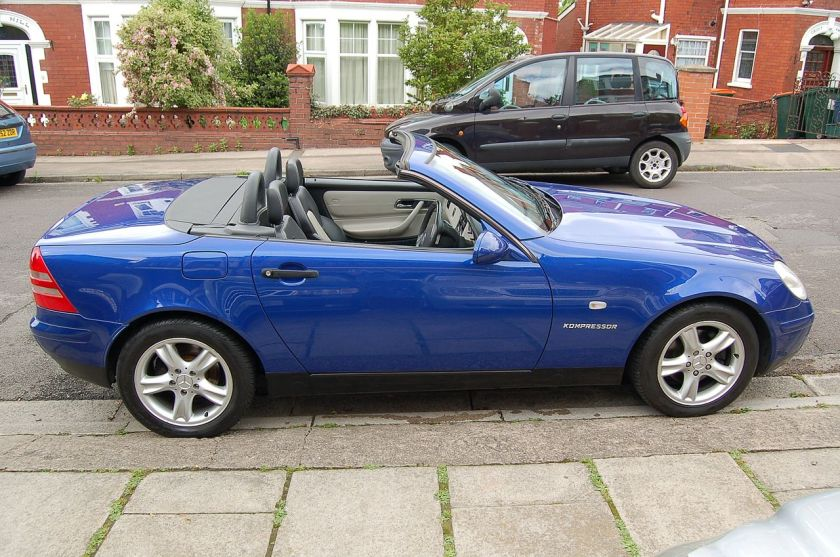 1998MY UK SLK230 Kompressor R170 model