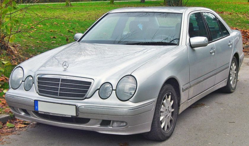 1999-02 Mercedes E 270 CDI Elegance (W210 Facelift)