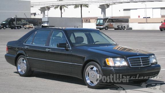 1999 Mercedes-Benz S500 Grand Edition Sedan