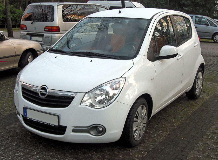 2000-15 Opel Agila B front