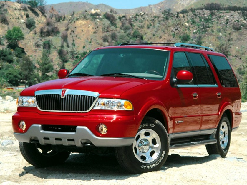 2000 Lincoln Navigator, Sport Utility Vehicle Truck (SUV)
