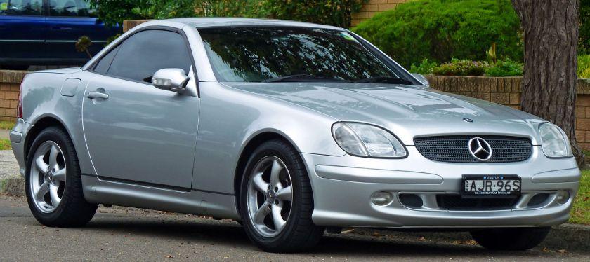 2000–2004 Mercedes-Benz SLK 320 (Australia)