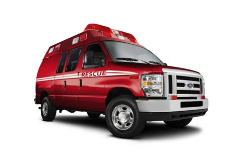 2000s Ford E-150 Ambulance