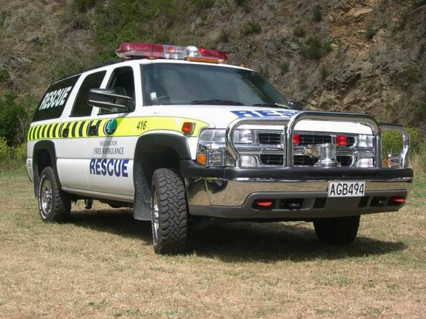 2001 Ambulance Chevrolet Surburban