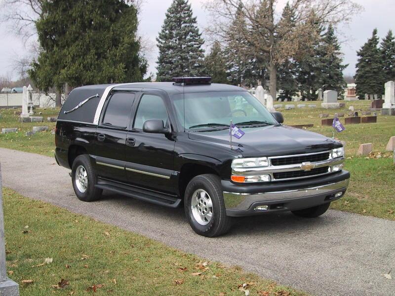2002 Chevrolet hearse