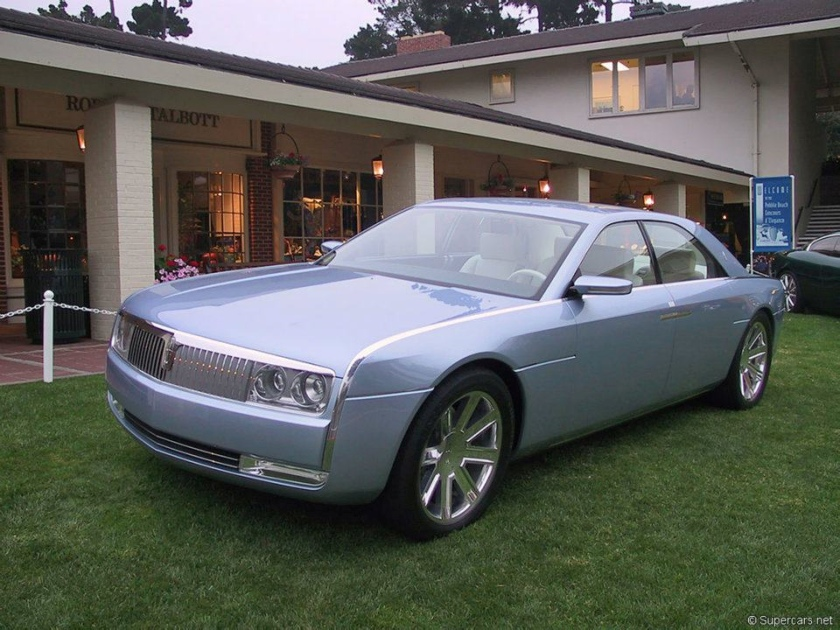 2002 Lincoln Continental concept car