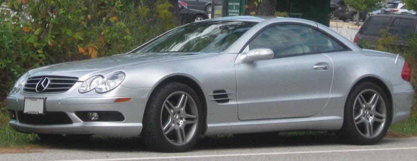 2003-2006 Mercedes-Benz SL500