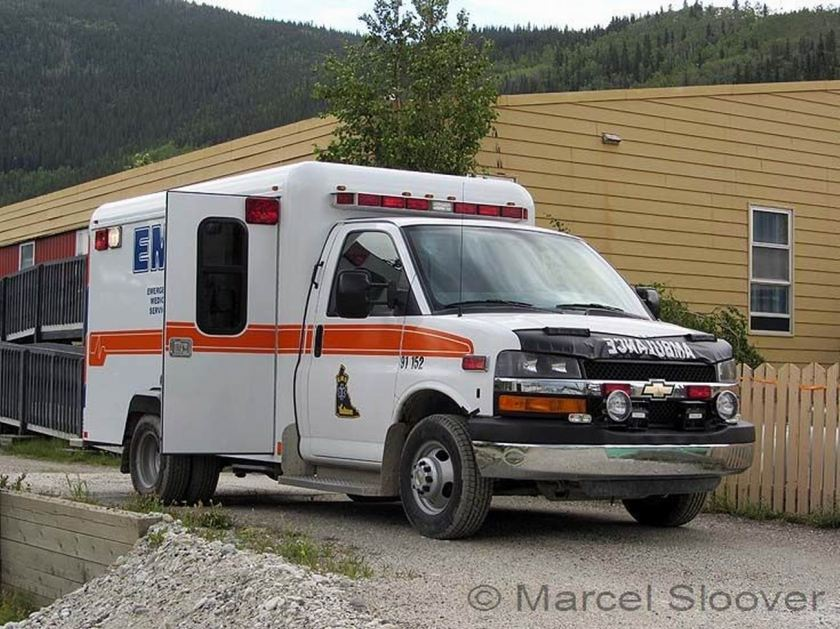 2003 Ambulance Chevrolet USA