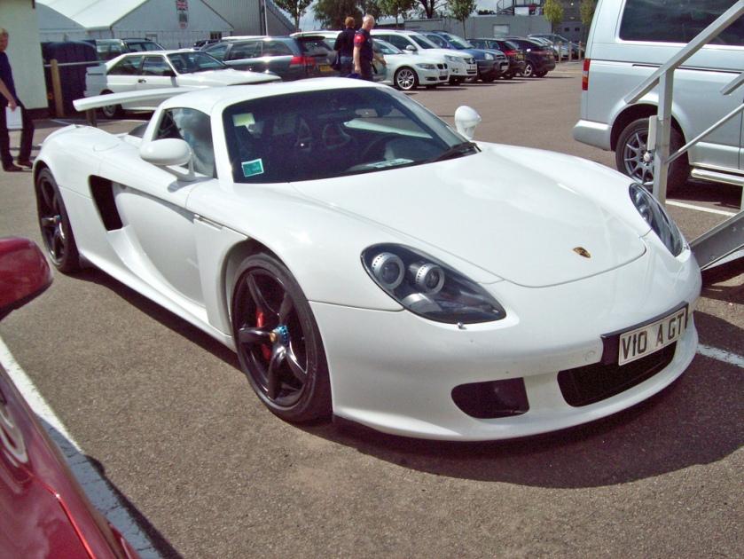 2004-06 Porsche Carrera GT Engine 5733cc V10 DOHC VIO