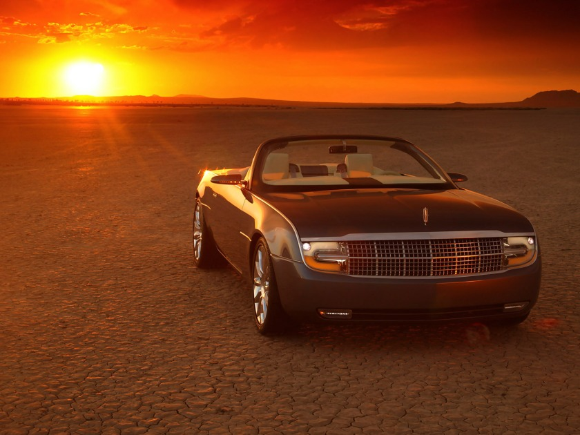 2004 Lincoln Mark X Roadster Concept