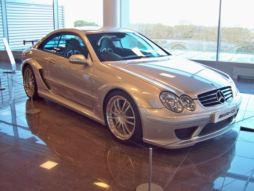 2004 Mercedes CLK DTM AMG Engine 5439cc V8 Supercharged