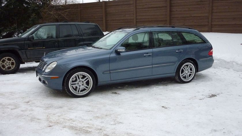 2005 Mercedes Benz E500 Estate