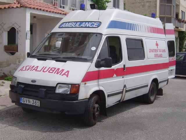 2006 Ford Transit Ambulance