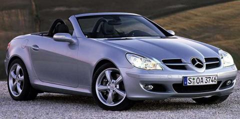 2006 Mercedes SLK