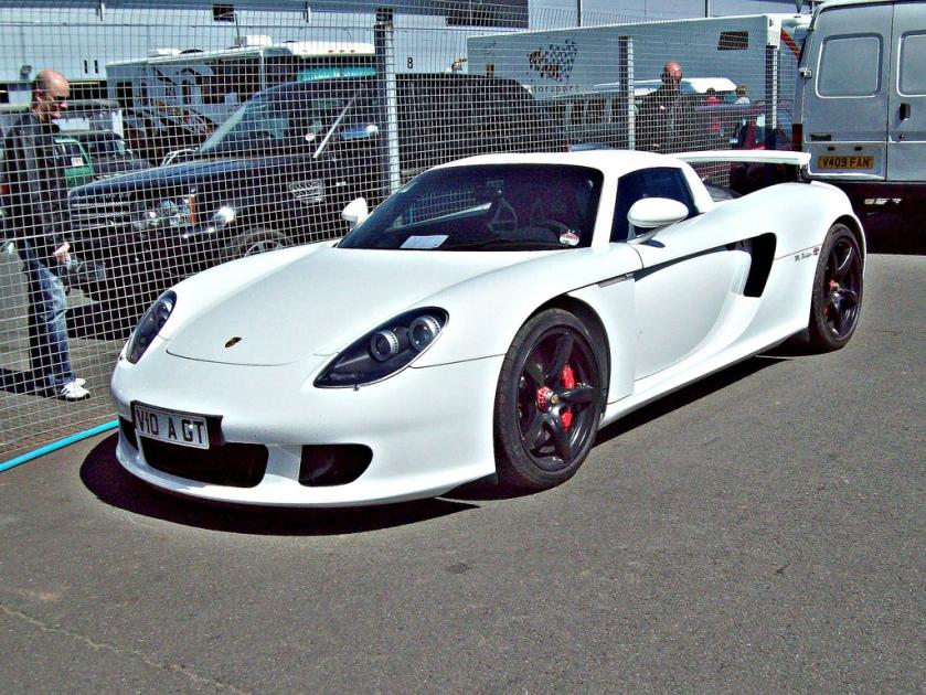 2006 Porsche Carrera GT Engine 5773cc V10 DOHC