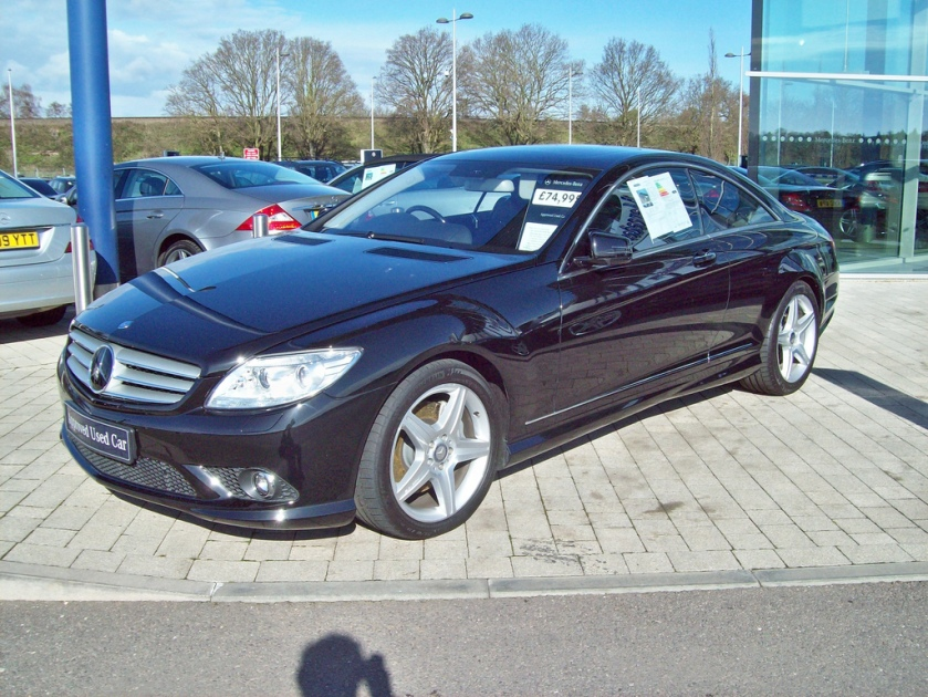 2007-10 Mercedes CL 500 Engine 5500cc V8