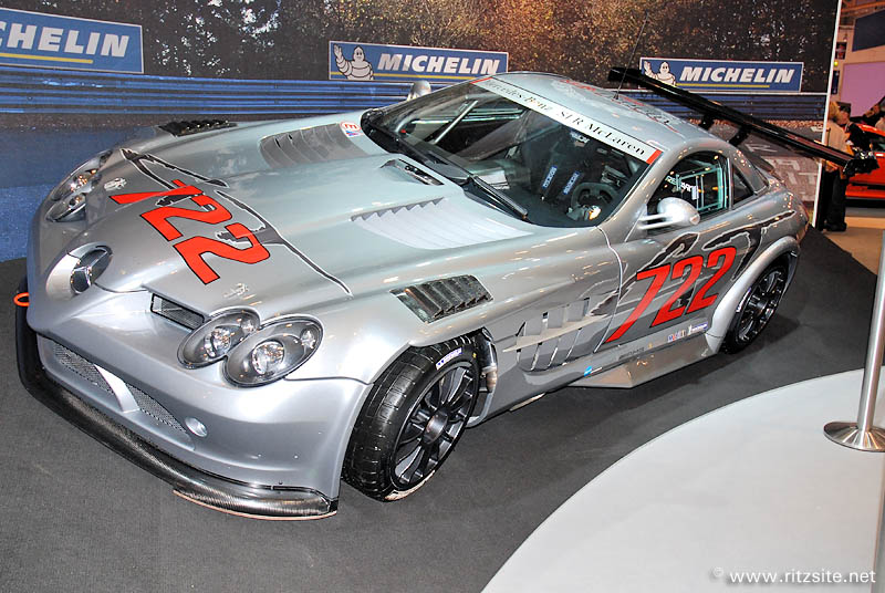 2007 Mercedes SLR McLaren 722 GT - developed by RML