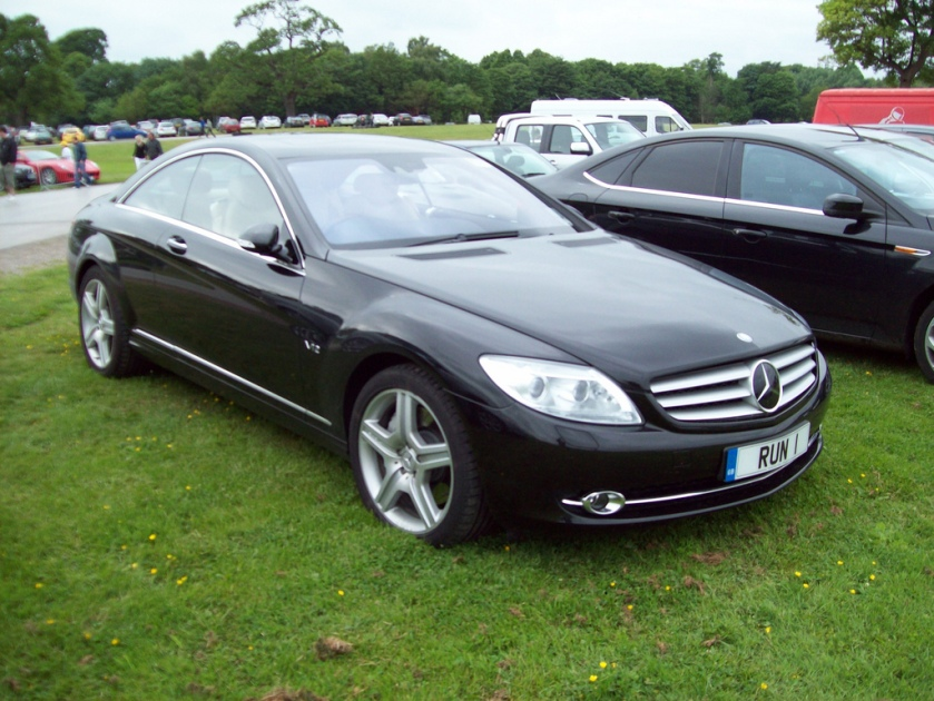 2007-on Mercedes CL 600 Auto Engine 5514cc