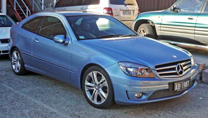 2008-10 Mercedes-Benz CLC 200 Kompressor(CL203)coupe
