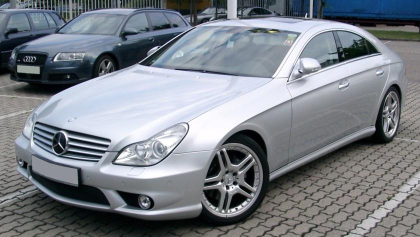 2008 Mercedes-Benz C219 front