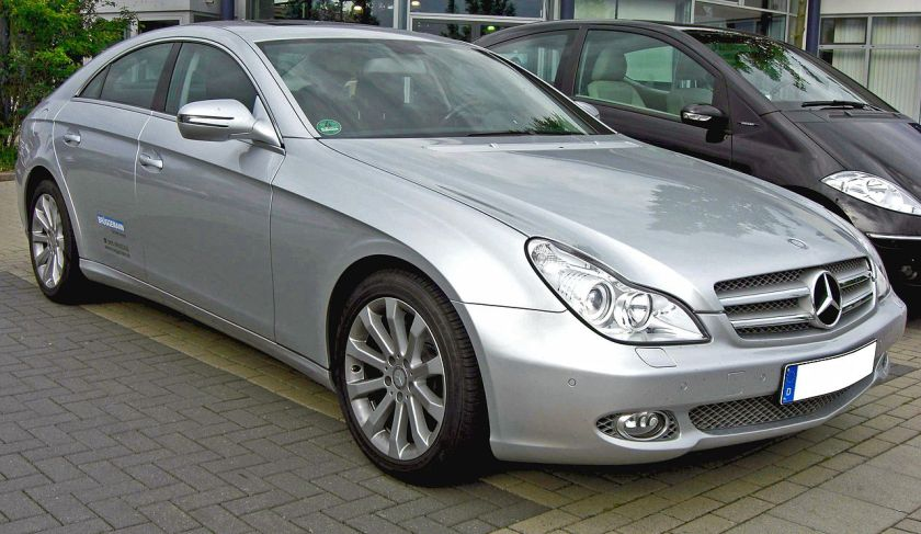 2008 Mercedes-Benz CLS (Europe)