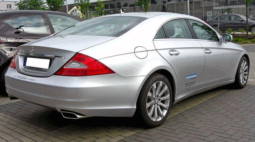 2008 Mercedes-Benz CLS (Europe)a