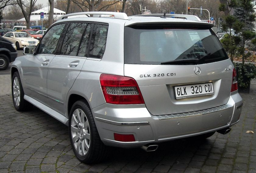2008 Mercedes-Benz GLK 320 CDI, Germany
