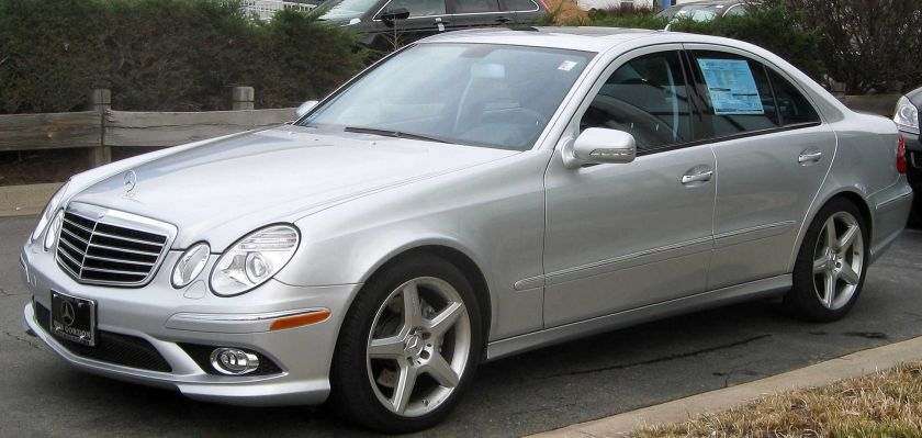 2009 Mercedes-Benz E350 (W211; US)