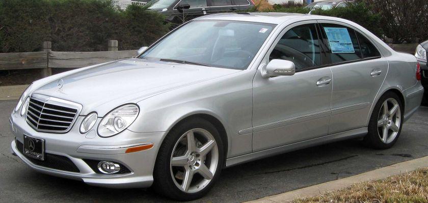2009 Mercedes-Benz E350 (W211; US)