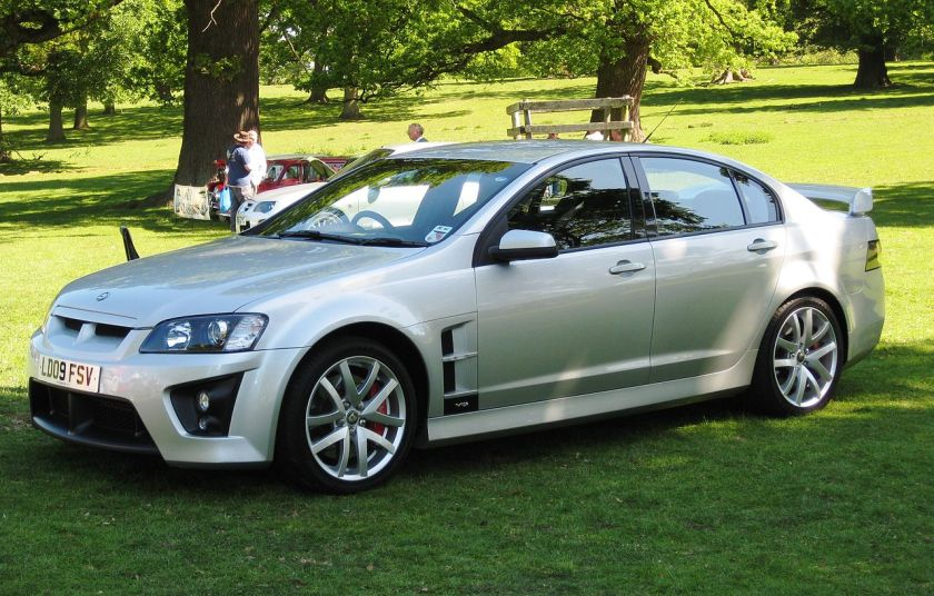 2009 Vauxhall VXR8 at Woburn