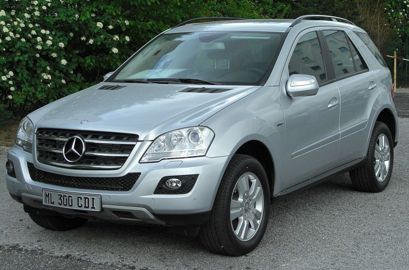 2010 Facelifted Mercedes-Benz ML 300 CDI 4Matic, Germany