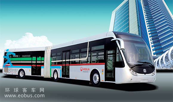 2010 LCK6180G - Zhongtong 18m BRT City