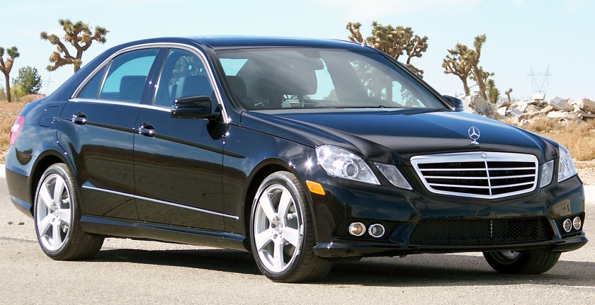 2010 Mercedes-Benz E350 NHTSA Mercedes-Benz E-Class (Executive car)