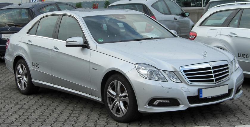 2010 Mercedes E 250 CDI BlueEFFICIENCY Avantgarde (W212)
