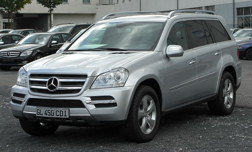 2010 Mercedes GL 450 CDI 4MATIC (X164) Facelift